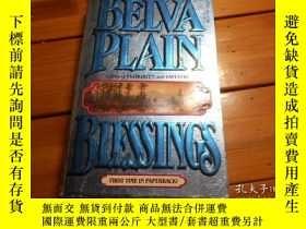 二手書博民逛書店BELVA罕見PLAIN, BLESSINGSY19865 BE