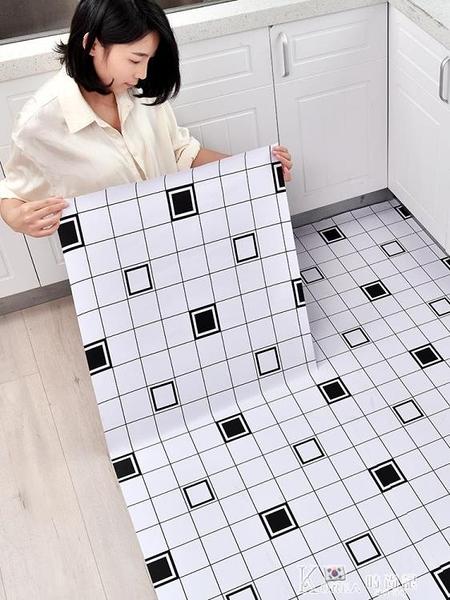 自黏地板貼廚房衛生間防水防滑耐磨地貼廁所浴室瓷磚翻新改造地面 618狂歡購