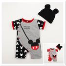 ※現貨 Billgo【M141152】【寶寶】卡通鼠連身衣-紅 90-95CM