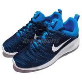 【六折特賣】Nike 休閒慢跑鞋 Kaishi 2.0 SE 藍 白 網布透氣 運動鞋 男鞋【PUMP306】 844838-401