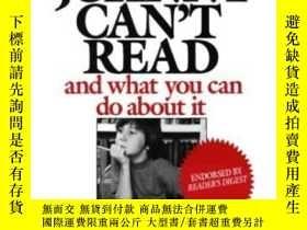 二手書博民逛書店Why罕見Johnny Can t Read: And What