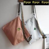 【YPRA】帆布包包 帆布包女斜挎包