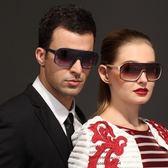 太陽眼鏡-偏光歐美時尚大框百搭抗UV男女墨鏡5色71g41[巴黎精品]