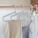 曬衣架 10個裝肩無痕衣架成人防滑衣服架晾衣架家用衣撐塑料衣掛鉤衣架子