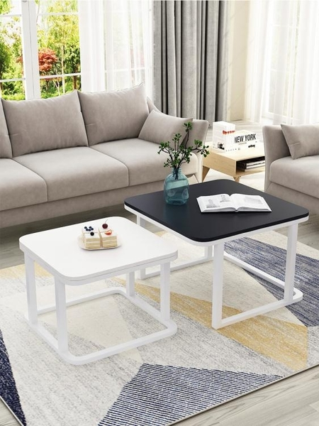 茶几茶幾簡約現代家用小戶型組合茶幾創意陽臺客廳沙發北歐小茶幾LX春季新品