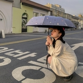 雨傘全自動可愛遮陽傘三摺疊