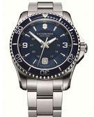 VICTORINOX 瑞士維氏 SWISS ARMY 潛水錶 手錶 (VISA-241602) 藍/43mm