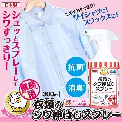 即期品【AIMEDIA艾美廸雅】衣物除皺消臭噴霧劑 300ml