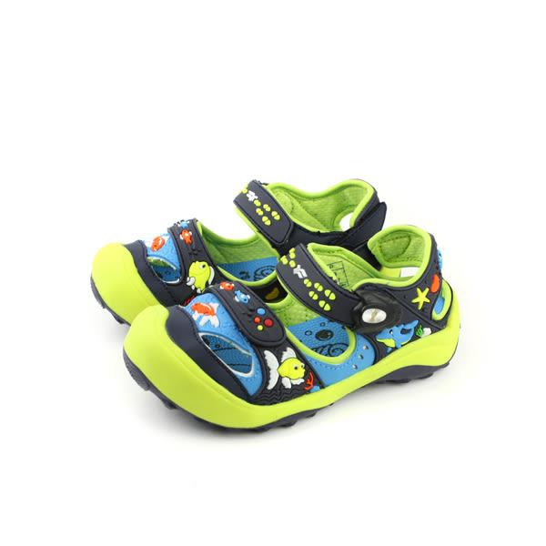 GP(Gold.Pigon) 涼鞋 綠色 中童 no753