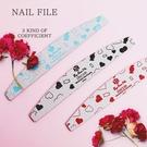 台灣品牌ByFunMe寵愛系列甜蜜女孩美甲修型 磨棒 25支 挫條 超耐打磨 卸甲 砂條 搓條 NailsMall