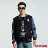 BOBSON 男款毛呢棒球外套 (35039-88)