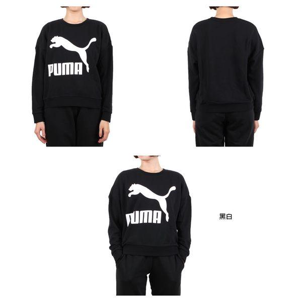 PUMA 女流行系列長袖圓領T恤 (長T 短版 長袖上衣≡體院≡