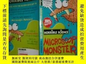 二手書博民逛書店(HORRIBLE罕見SCIENCE)microscopic m
