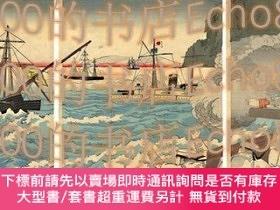 二手書博民逛書店我艦隊清艦を捕獲する圖The罕見Japanese Fleet Capturing Chinese Battlesh