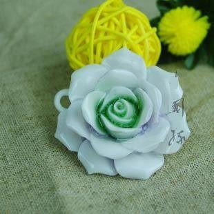 陶瓷飾品 首飾毛衣鏈墜