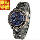 鑽錶-百搭優質時尚女腕錶3色5j57【巴黎精品】