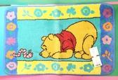【震撼精品百貨】Winnie the Pooh 小熊維尼~日製絨毛地墊~趴著#32152