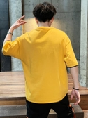 t恤男短袖夏季2019新款潮流寬鬆純棉半袖潮牌上衣服體恤ins夏裝潮 嬌糖小屋