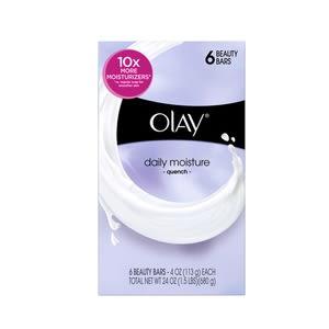 美國Olay 美容香皂-日常10倍保濕(106g*6/組)*2