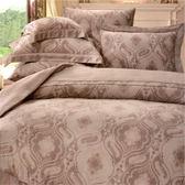 【名流寢飾家居館】佐暗風情.100%天絲.60支.超柔觸感.標準雙人床包組兩用鋪棉被套全套