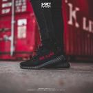 IMPACT Adidas Yeezy Boost 350 V2 Black Red 黑底 紅字 拉環 CP9652