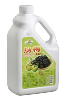 【綠盟】福樹牌 烏梅風味糖漿- 2.5kg/瓶--【良鎂咖啡精品館】