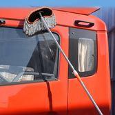 洗車拖把專用洗車刷子長柄伸縮式純棉多功能軟毛汽車擦車刷車工具【中秋節禮物好康八折】