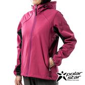 PolarStar 女 Soft Shell保暖外套『芋紫』P19210 戶外│休閒│登山│露營│機能衣│保暖外套│連帽外套