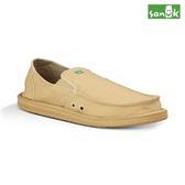 SANUK 口袋系列懶人鞋男款SMF1032 TAN 褐色