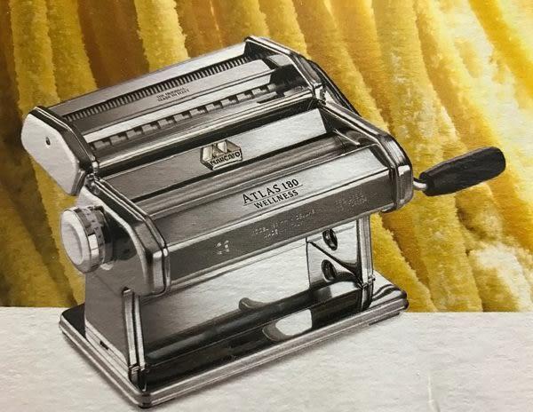 Marcato 製麵機 壓麵機與馬達組合 Atlas180 (18cm)銀色 義大利製 分離式