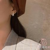 蝴蝶耳環女韓國氣質小眾設計感耳飾高級感耳釘【少女顏究院】
