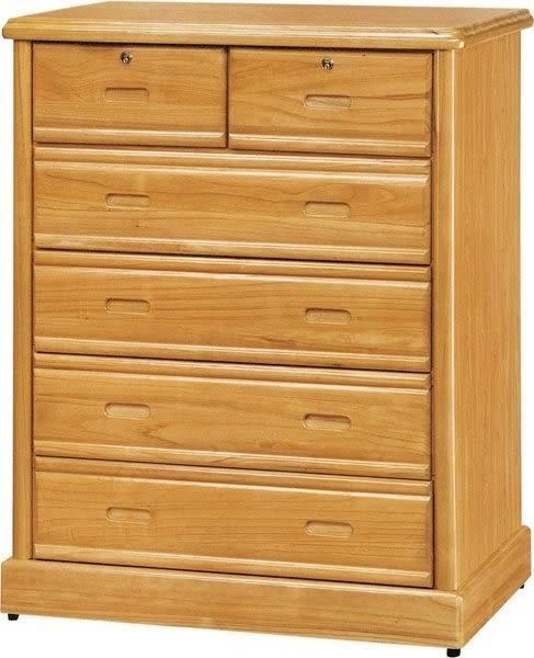 【新北大】❖K2262-2 半實木赤陽色3.5尺五斗櫃~大台北、桃園附近免運費