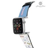 三麗鷗系列 Apple Watch 皮革錶帶 大耳狗 (銀)