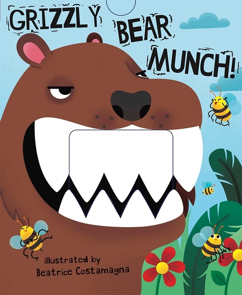 【幼兒操作書】GRIZZLY BEAR MUNCH《主題:品格教育》