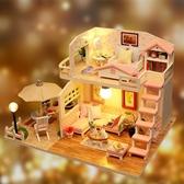 DIY小屋拼裝手工制作房子玩具模型女孩公主別墅創意女男生日禮物