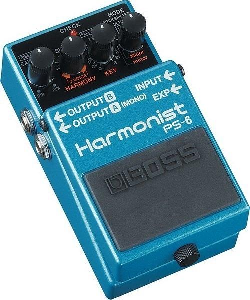 ☆ 唐尼樂器︵☆ BOSS PS-6 Harmonist 智慧型 移調 效果器 PS-6