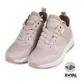 Palladium 新竹皇家 Ax-Eon 玫瑰粉色 布質 套入式 軍靴 女款 NO.I9426
