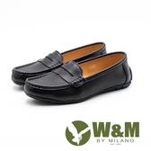 W&M 十字壓紋便仕樂福鞋 女鞋 - 黑(另有白)