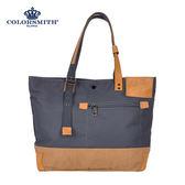 【COLORSMITH】SP8・簡約扣式托特包-灰色・SP8-1312-GY