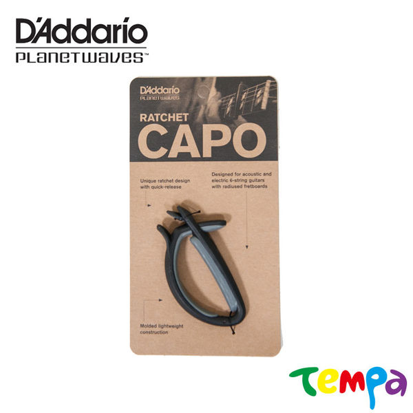 【Tempa】DAddarioPlanetWavesPW-CP-01棘齒固定快速鎖定移調夾