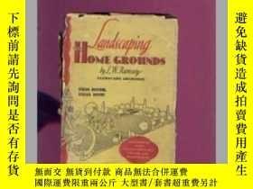 二手書博民逛書店英文版:LANDSCAPING罕見THE HOME GROUND