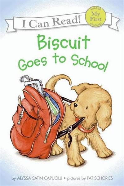 (二手書)An I Can Read Book My First Reading: Biscuit Goes to School