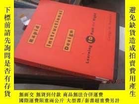 二手書博民逛書店急速規程設計:快速準確的學習Rapid罕見Instruction
