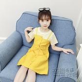 女童洋裝夏裝新款中大兒童小女孩裙子夏季超洋氣公主裙韓版 雙十二全館免運
