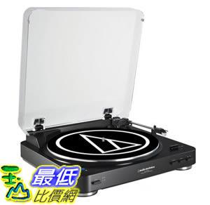 [107美國直購] Audio Technica AT-LP60BK-BT Fully Automatic Bluetooth Wireless Belt-Drive Stereo Turntable