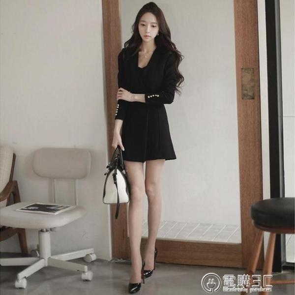 正式場合職場OL女裝干練氣質女神范衣服新款韓版上班族洋裝 電購3C