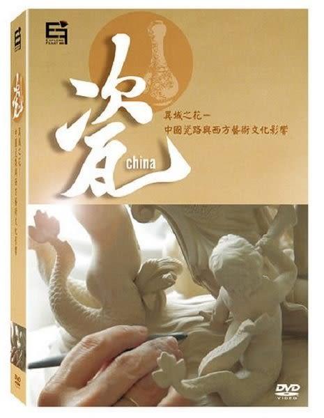 瓷 異域之花中國瓷路與西方藝術文化影響 DVD  ( 購潮8)
