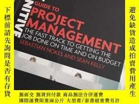 二手書博民逛書店The罕見definitive guide to project management  the fast tra