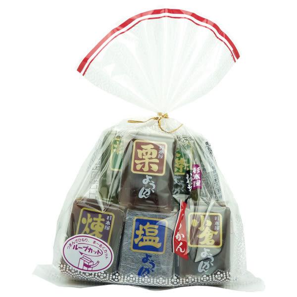 日本 五色羊羹 360g【櫻桃飾品】【26692】
