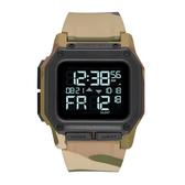 NIXON THE REGULUS 美國特種部隊軍事潛水錶 特種部隊錶 指定款 第二時區 美式風格 潛水錶 迷彩